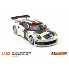 SCALEUATO SC-6066 PORSCHE 991 RSR 24H. LE MANS 2013 2ND 91 HOME SERIES