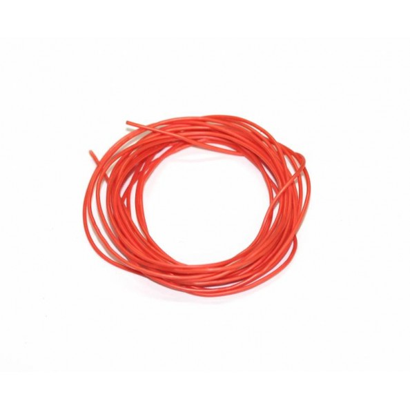 SLOTING PLUS SP107041 CABLE SILICONA LIBRE DE OXIGENO 1 mm NARANJA
