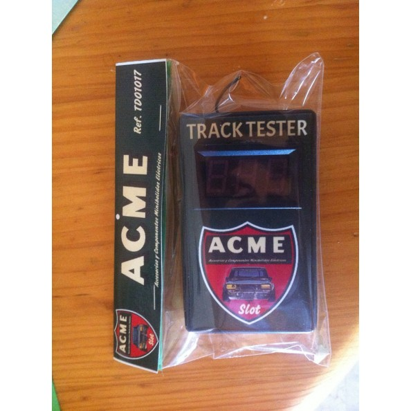ACME SLOT TRACK TESTER