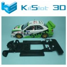 CHASIS LINEAL BLACK SUBARU WRC NINCO KILSLOT