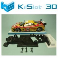 KILSLOT KS-GT1V CHASIS ANGULAR RACE SOFT FERRARI 360 MODENA NINCO PISTA