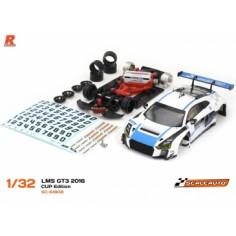 Scaleauto SC-6180B Audi R8 LMS GT3 Cup Edition Blanco/Azul