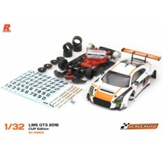 Scaleauto SC-6180D Audi R8 LMS GT3 Cup Edition Blanco/Naranja R VERSION AW