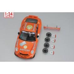 Scaleauto SC-7013B Carroceria 1/24 Porsche 911 GT3 JAGERMEISTER