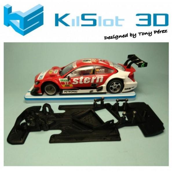 KILSLOT KS-VM18 CHASIS 3D ANGULAR RACE 2018 MERCEDES AMG C-COUPE SCX