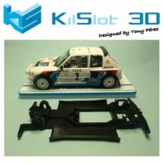 KILSLOT KS-RN98 CHASIS 3D LINEAL RACE 2018 PEUGEOT 205 T16 OSC