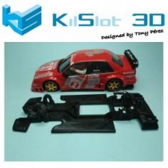 KILSLOT KS-VA3T CHASIS 3D LINEAL RACE SOFT ALFA ROMEO 155 V6 DTM NINCO