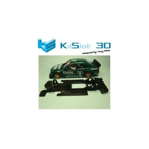 KILSLOT KS-VC2T Chasis 3D LINEAL RACE SOFT Mercedes C-Klasse NINCO