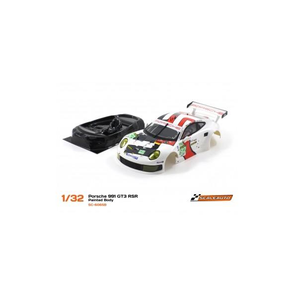 SCALEAUTO SC-6065B Carrocería Porsche 991 RSR 24H LM 13 + LEXAN