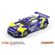 COCHE SLOT GT SCALEAUTO SC-6050 SPYKER C8 LAVIOLETTE GT2R 24H. LEMANS 2008 85