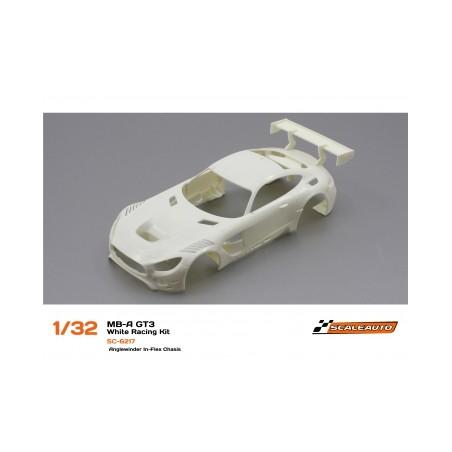 SCALEAUTO SC-6217 MB-A GT3 Kit en blanco
