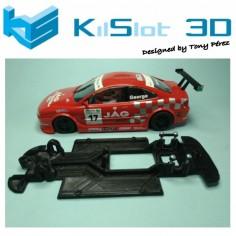 Kilslot KS-VP1T chasis 3d LINEAL RACE SOFT Peugeot 406 SPIRIT
