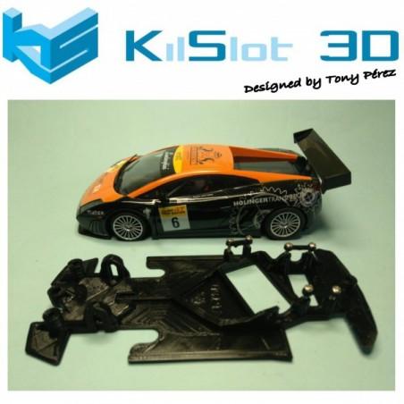 KILSLOT KS-VGT68 Chasis 3d ANGULAR RACE 2018 Lamborghini Gallardo Ninco (Pista)