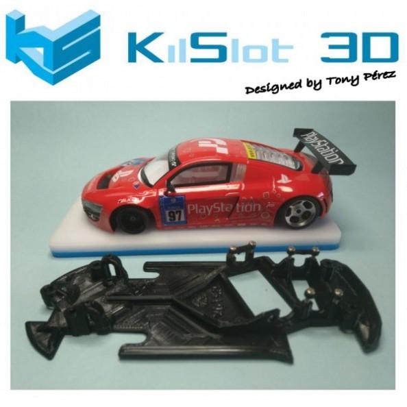 KILSLOT KS-VGT58 Chasis 3d ANGULAR RACE SOFT Audi R8 NSR (Pista)