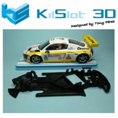 KILSLOT KS-GT58 Chasis 3d ANGULAR RACE 2018 Audi R8 NSR (rally)