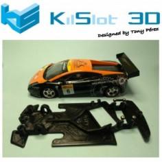 KILSLOT KS-GT68 Chasis 3d ANGULAR RACE 2018 Lamborghini Gallardo Ninco (Rally)