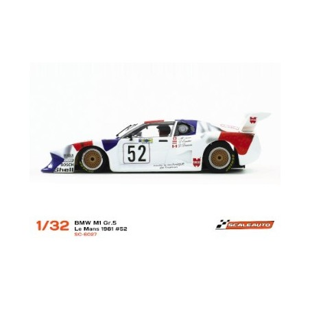 SCALEAUTO BMW M1 GR.5 LE MANS 1981 52 WURTH
