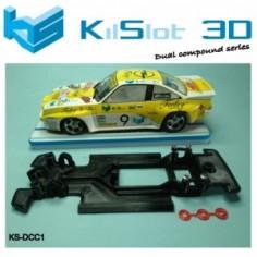 KILSLOT KS-DCC1 Chasis 3d DUAL COMP Opel Manta 400 AVANT