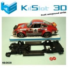KILSLOT KS-DCC5 chasis 3d DUAL COMP Porsche 911R FLY
