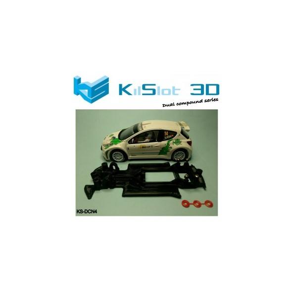 KILSLOT KS-DCN4 chasis 3d DUAL COMP Peugeot 207 AVANT