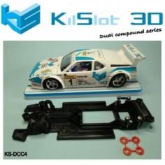 KILSLOT KS-DCC4 chasis 3d DUAL COMP BMW M1 FLY