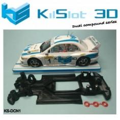 KILSLOT KS-DCN1 chasis 3d DUAL COMP Subaru SCALEAUTO