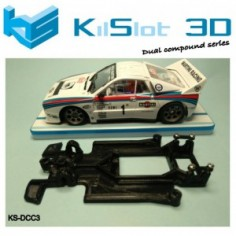 KILSLOT KS-DCC3 chasis 3d DUAL COMP Lancia 037 NINCO
