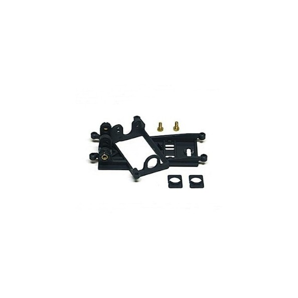 SLOT.IT SI-CH60B SOPORTE MOTOR ANGLEWINDER OFFSET 0.5MM EVO-6 HARD