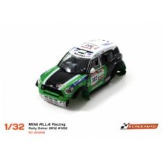 SCALEAUTO SC-6092B Carrocería Mini All4 RAcing Dakar 2012