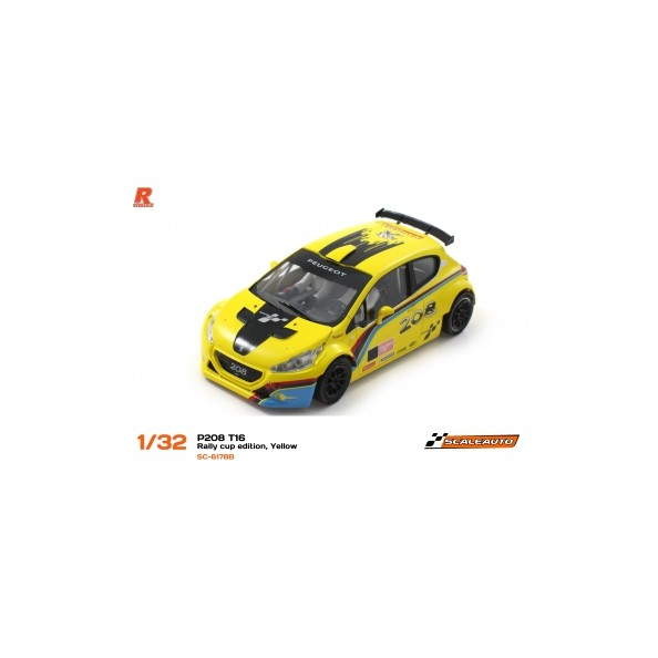 PEUGEOT 208 T16 SCALEAUTO CUP EDITION...