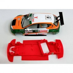 Mustang CB0026V Chasis 3d angular simple Seat León Scalextric
