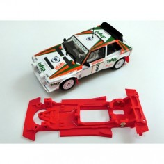 Mustang CB0004LV Chasis 3d lineal Lancia S4 EVO Superslot