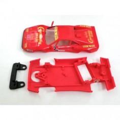 Mustang CB0033C Chasis 3d angulo completo Ferrari GTO