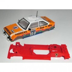 Mustang CB0025LV Chasis 3d lineal Ford Escort MKII Scalextric