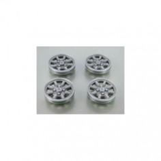 MUSTANG T155SP7S Tapacubos plata MINILITE para llanta 15,5 Sloting Plus