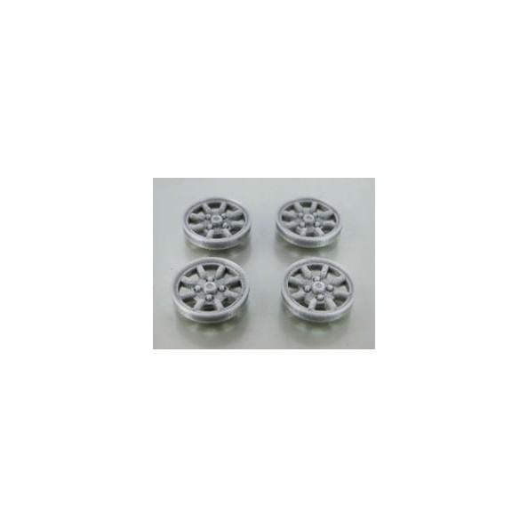 MUSTANG T150SP7S Tapacubos plata MINILITE para llanta 15.0 Sloting Plus