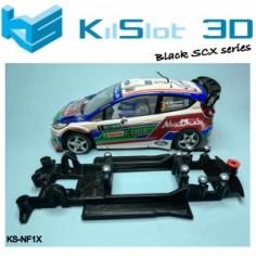 Kilslot NF1X Chasis 3d motor RX Ford Fiesta WRC SCX