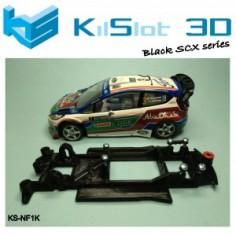 Kilslot NF1K Chasis 3d motor RK Ford Fiesta WRC SCX