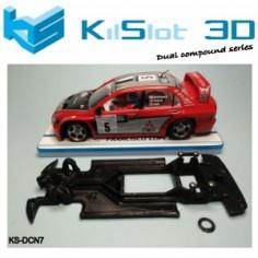 Kilslot DCN7 chasis 3d DUAL COMP MITSUBISHI WRC NINCO