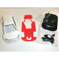 MUSTANG CH0005C Chasis 3D hibrid + carrocería Megane T1 NINCO