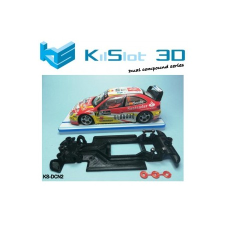 KILSLOT CHASIS 3D DUAL COMP CITROEN XSARA PRO SCX