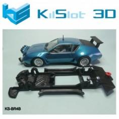 KILSLOT CHASIS 3D LINEAL BLACK ALPINE A310 V6 TEAMSLOT