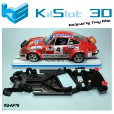 KILSLOT CHASIS 3D ANGULAR RACE SOFT PORSCHE 911R FLY