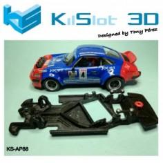 KILSLOT CHASIS 3D ANGULAR RACE 2018 PORSCHE 911 NINCO