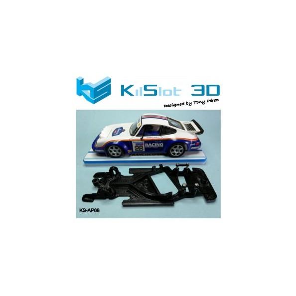 KILSLOT CHASIS 3D ANGULAR RACE SOFT PORSCHE 911 SCX