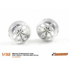 SCALEAUTO SC-4031D25 llanta aluminio Monza-2 15.8x8.5