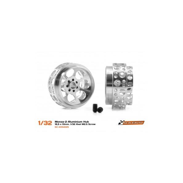 SCALEAUTO SC-4054D25 llanta aluminio MONZA-2 16.5x10mm