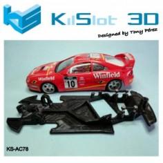 KILSLOT CHASIS 3D RACE SOFT ANGULAR TOYOTA CELICA GT FOUR ST205 NINCO