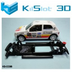 CHASIS 3D LINEAL BLACK RENAULT CLIO 16V NINCO