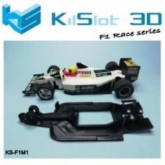 KILSLOT CHASIS 3D LINEAL RACE MINARDI F1 SCX